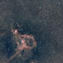IC1805-double amas de persée,                                laup1234