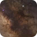 Core of the milky way and jupiter,                                Robin Mevert