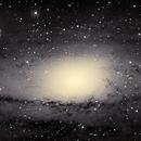 M31 Andromeda - my first mosaic,                                Holger Meißner