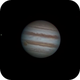 """Jupiter and Europa with 4"""" telescope!,                                Arno Rottal"""