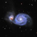 M51 - Galaxie du Tourbillon,                                Benjamin