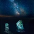 Stack Rocks Pembrokeshire & Milkyway,                                iLMioPhotography