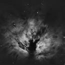 Flame Nebula  NGC 2024 (Ha 7nm + OIII 12nm),                                sky-watcher (johny)