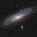 M31 - Galaxie d'Andromède - APO66/400,                                Jean-Baptiste Auroux