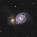 Whirlpool Galaxy - June 18, 2020,                                Adam Drake