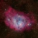 Lagoon Nebula (M8) Close-up,                                Rudy Pohl