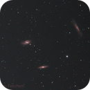 Leo Trio M65 M66 & NGC 3628,                                Josh Frechem
