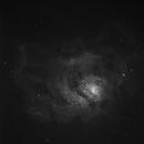 Lagoon Nebula in Ha,                                banzai