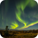 Aurora on Fjallabak, Iceland,                                sergio.diaz