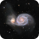 M51 The Whirlpool Galaxy,                                Ron Stanley