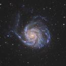 M101 - The Pinwheel Galaxy,                                Trần Hạ