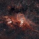 NGC 3576 - Bicolor HOO,                                Yann-Eric BOYEAU