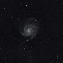 M 101 Pinwheel Nebula,                                Hans van Overzee