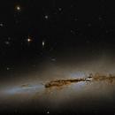 NGC 4710,                                Steven Marx