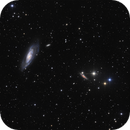Messier 106 and its surroundings,                                Rafael Schmall