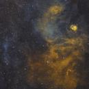 NGC 6604 - Hubble Palette,                                Rodrigo Andolfato
