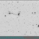 ARP 175 (IC3481 & companions) Narrow counter-tails in Virgo,                                elbee