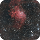 IC405 The Flaming Star Nebula HOORGB,                                Michael Caller