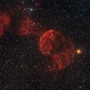 Ic443 Jellyfish Nebula,                                Magnus Edbäck