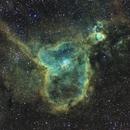 Nébuleuse du coeur - IC1805,                                ASTROIDF