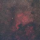 Deneb, NAN & Pelican Nebulae region - 14 July2021,                                Geof Lewis
