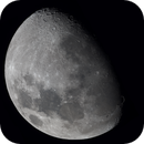 A southern hemisphere view of the 2/3rds illuminated gibbous Moon,                                Niall MacNeill