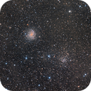 Fireworks Galaxy, Open Cluster NGC 6939 & some IFN,                                Israel Gil Andani