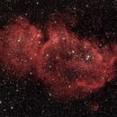 Sh2-199 / IC1848 - Soul Nebula in HαRGB,                                Uwe Deutermann