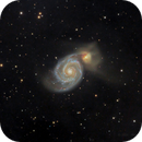 M51 - close up,                                Álmos BALÁSI