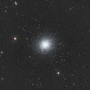 M13 - the Great Cluster in Hercules,                                Yizhou Zhang