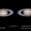 Saturno 2020-7-29  22:45,4 UT,                                ortzemuga