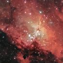 The Eagle Nebula,                                Elliott McKinley