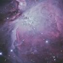 M42 - The Orion Nebula,                                cclark