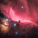 Horsehead and Flame Nebulae (HaRGB),                                Charles Bonafilia