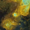 NGC 3324  Gabriela Mistral Nebula,                                David Nguyen