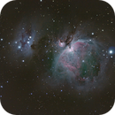M42 The great Orion Nebula,                                sweeper
