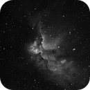 NGC 7380 Wizard Nebula in Hydrogen-alpha,                                Barczynski