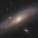M31, M32 & M110,                                David Cheng