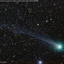 Komet Lovejoy bei M76,                                Hans-Friedrich Tr...