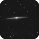 ngc 4565 - 2 nights of unguided exposures,                                Stefano Ciapetti