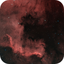 NGC 7000 in HOO,                                gturgeon