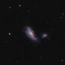 Cocoon galaxy (NGC4490) and NGC4485,                                László Szeri