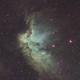NGC 7380 Wizard Nebula,                                ks_observer