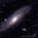 M31 Andromeda Galaxy, October 2020,                                David Tate