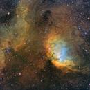 SH2-101 in Cygnus - complete field,                                Arnaud Peel