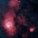 Lagoon Nebula,                                Aaron Freimark