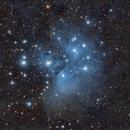 Pleiades (Messier 45),                                Henning Schmidt