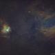 Sh2-205 & Sh2-206 Emission Nebulas in SHO,                                Douglas J Struble