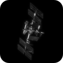 Animation of the ISS rotation by Science 29.07.2021,                                Khisamutdinov Maksim