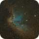 NGC 7380, The Wizard Nebula in SHO,                                Madratter